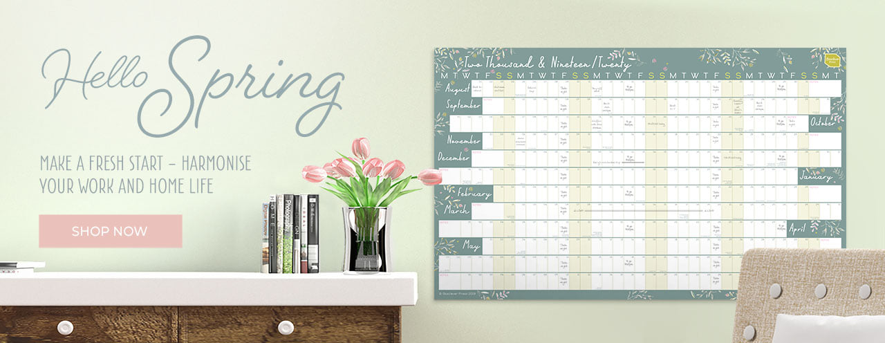 Wall planners and revision calendars from Boxclever Press.