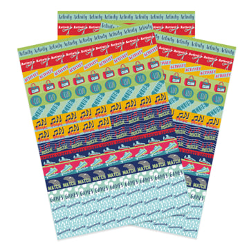 Activity Calendar & Diary Reminder Stickers