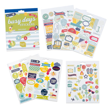 Busy Days Stickers: Holidays