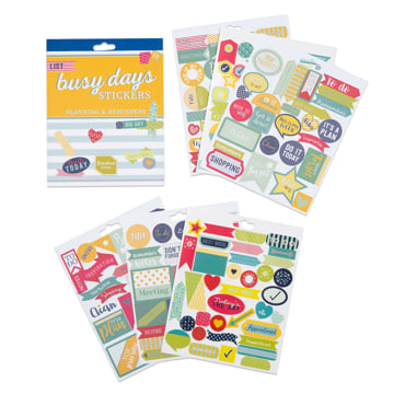 Busy Days Stickers: Planning & Reminders