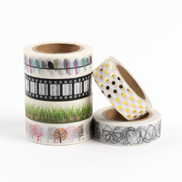 Busy Days Washi Tape - Mixed