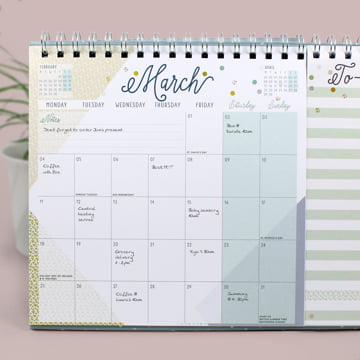 2019 Everyday Desk Calendar