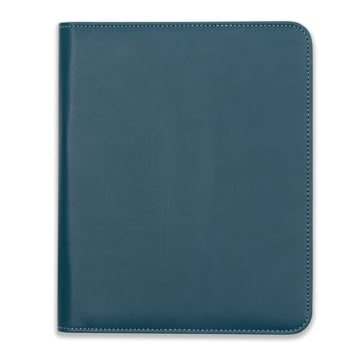 2019 Family Life Book in Faux Leather Cover - Deep Sea Blue