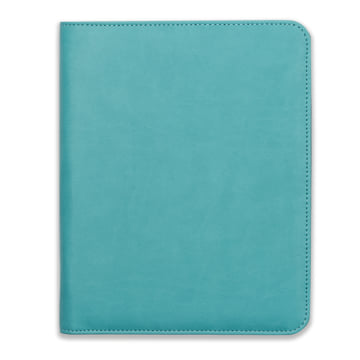 2019 Family Life Book in Faux Leather Cover - Fountain Blue