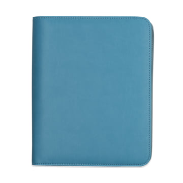 Family Life Book in Faux Leather Cover - Marlin Blue