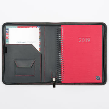 2018-2019 Family Life Book in Faux Leather Cover