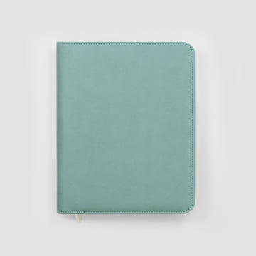 2020 Family Life Book diary in Faux Leather Cover-Fountain Blue