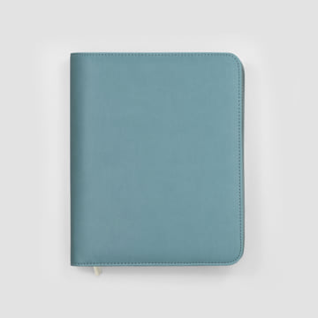 2020 Family Life Book diary in Faux Leather Cover-Marlin Blue