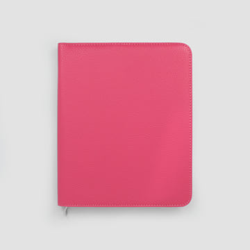 2020 Life Book in Faux Leather Cover-Raspberry