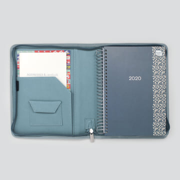 2020 Life Book Diary in faux leather cover