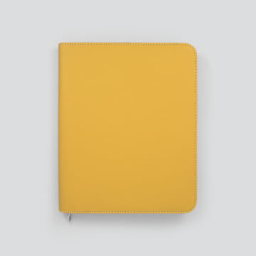 Luxury A5 Diary Covers-Mustard Yellow