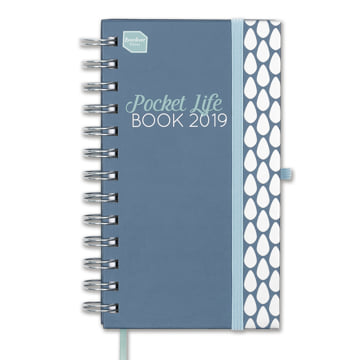 2018-2019 Pocket Life Book Diary