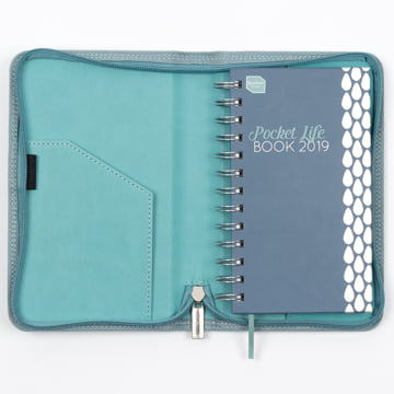 2018-2019 Pocket Life Book in faux leather cover