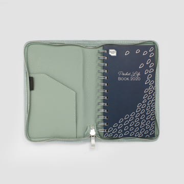 2020 Pocket Life Book diary in faux leather cover