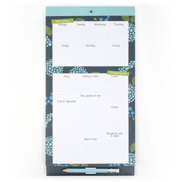 Menu & Shopping Magnetic Fridge List