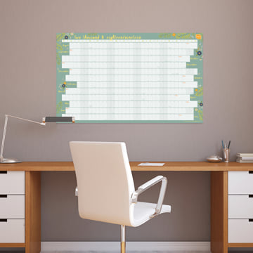 2018-2019 Academic Wall Planner (Linear)