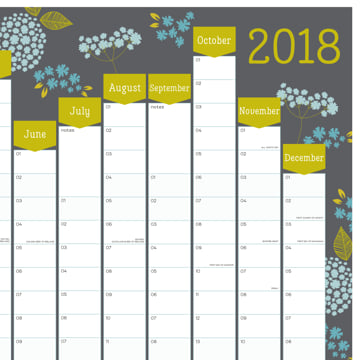 2018 Wall Planner (Portrait)