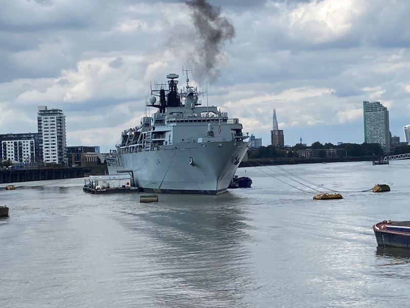 Liverymen enjoy once in a lifetime trip to HMS ALBION