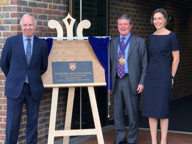 Master opens Brewers' Education Centre