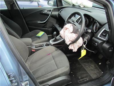 Vauxhall Astra 2010 To 2015 5 Door Hatchback