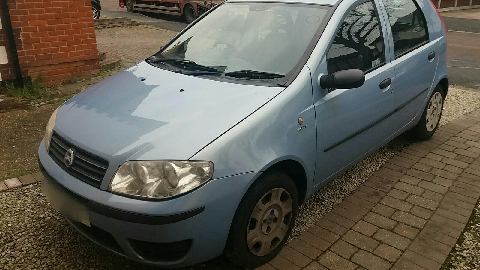 Fiat Punto 2003 To 2006 5 Door Hatchback