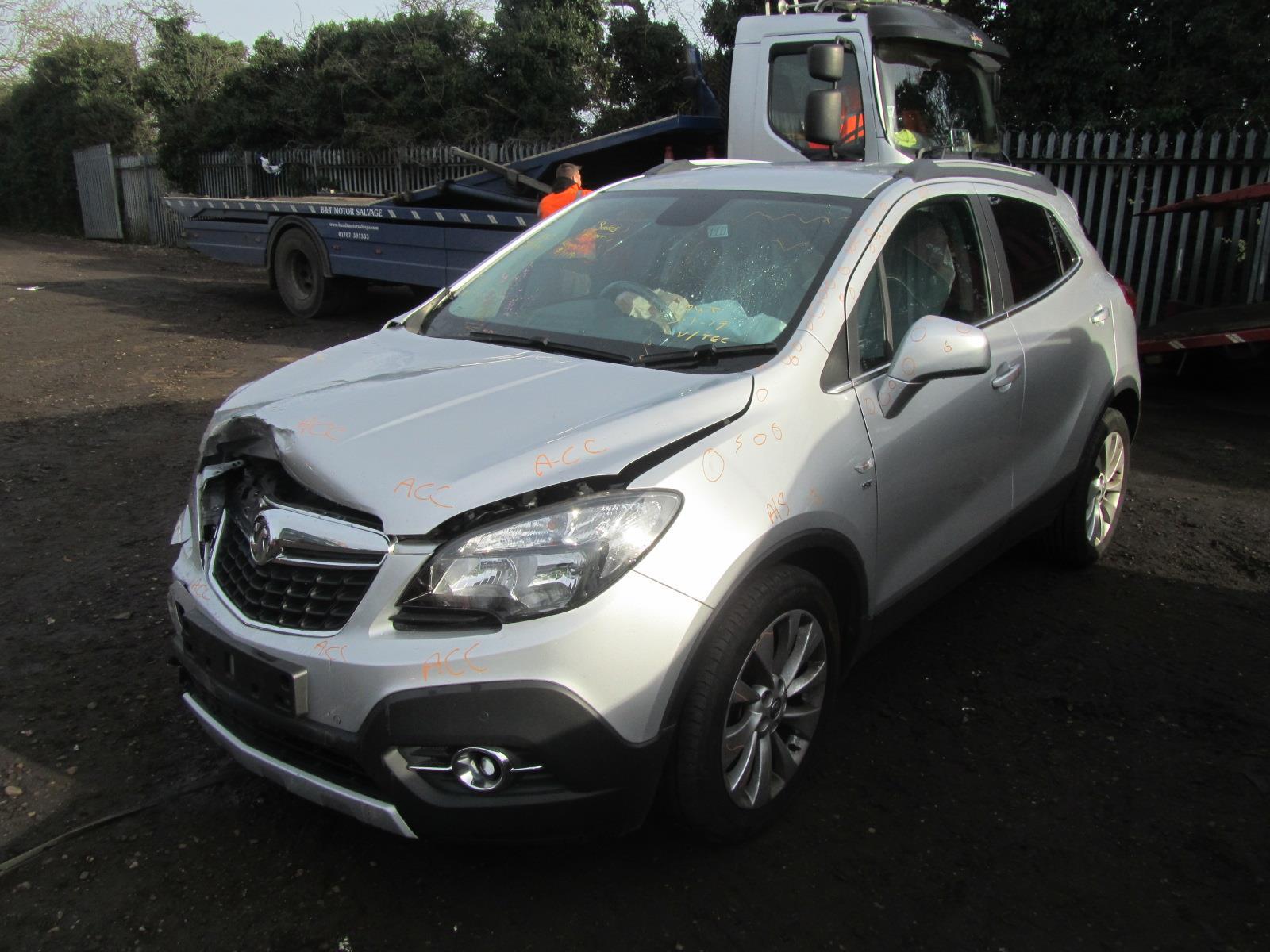Vauxhall Mokka 2012 On 5 Door Hatchback
