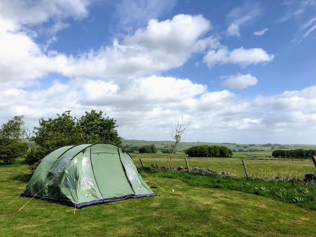 Picturesque camp site