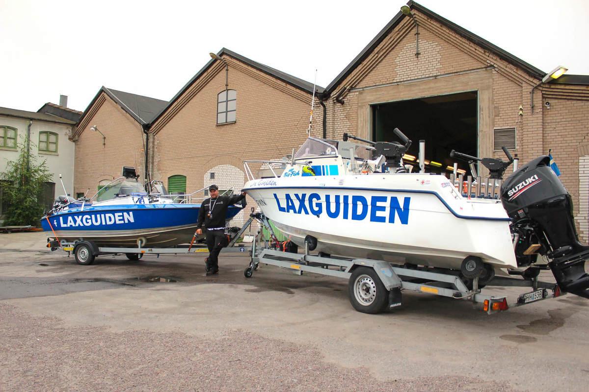 Företagsfiske, Laxfiske, Fiska lax bild