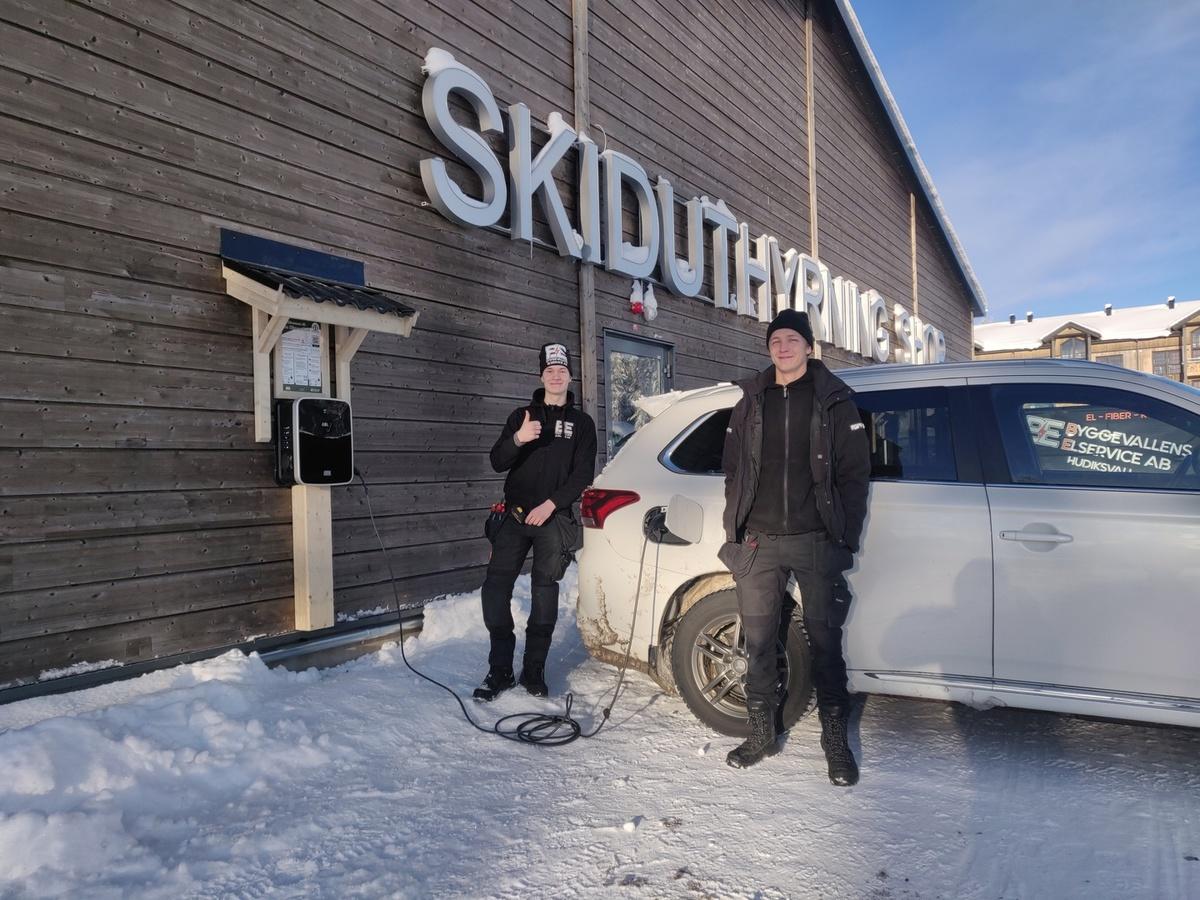 Laddbox Hudiksvall, Installera Laddbox Hudiksvall bild