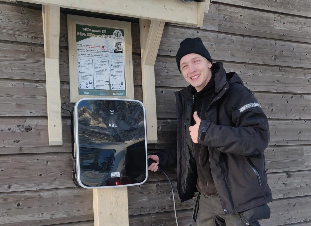 Laddbox Dalarna, Installera Laddbox Dalarna bild