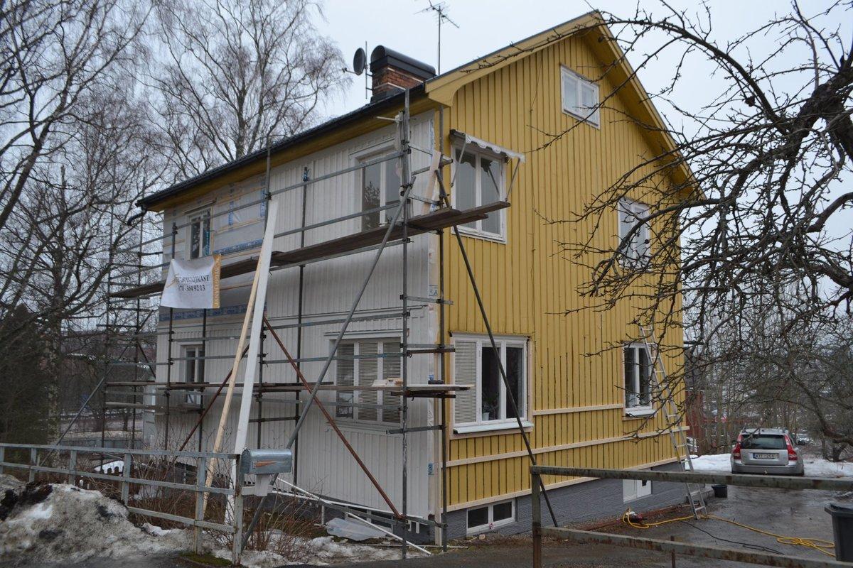Fasadbyte Ludvika, Målare Ludvika, Putsning Ludvika bild
