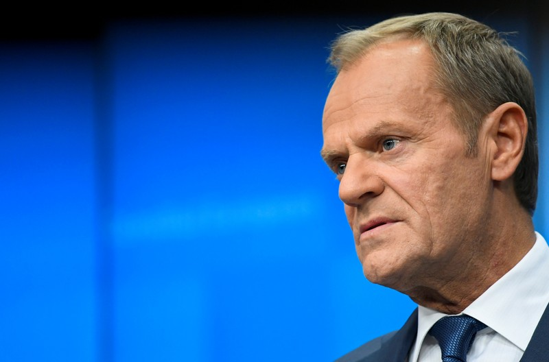 "Britain to become ""second rate"" in the world after Brexit - EU's Tusk"