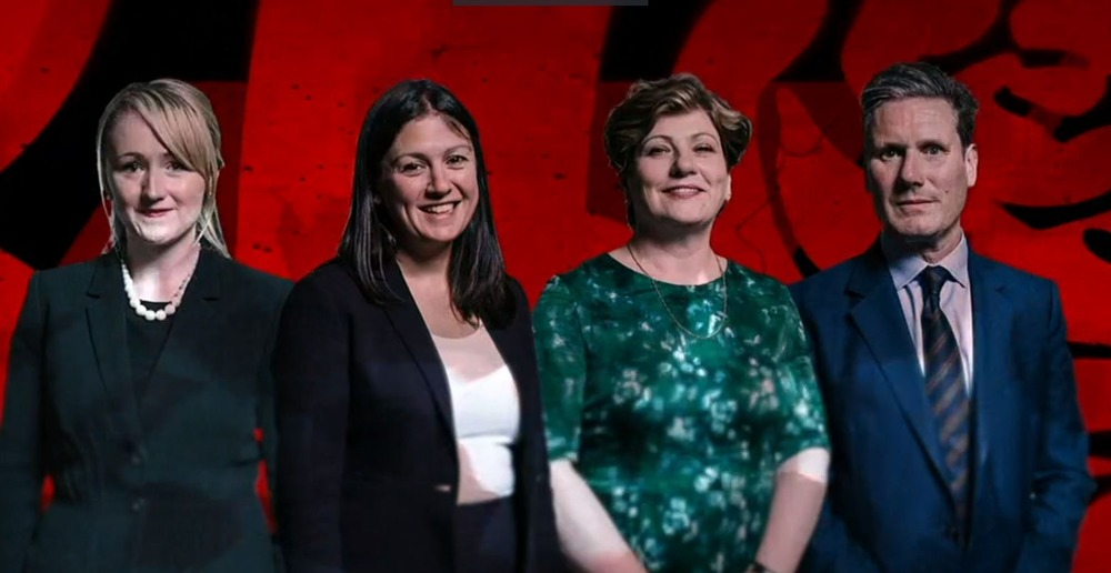 Screenshot taken by Labour Buzz from BBC iPlayer Newsnight, Labour Leadership debate. 12/02/20