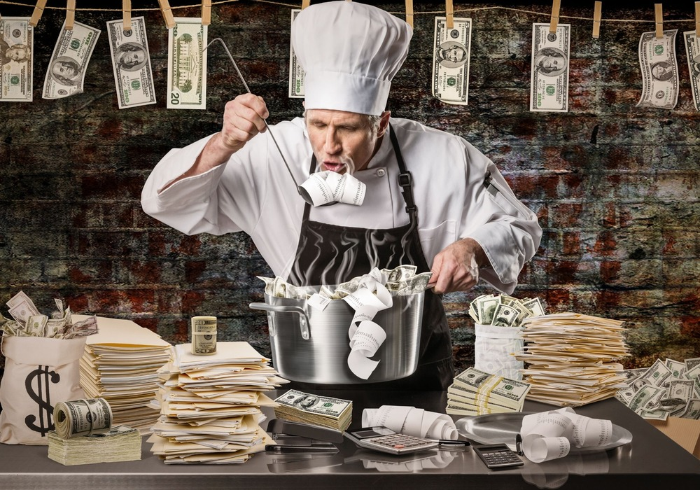 Credit: Bywire News - money laundering chef
