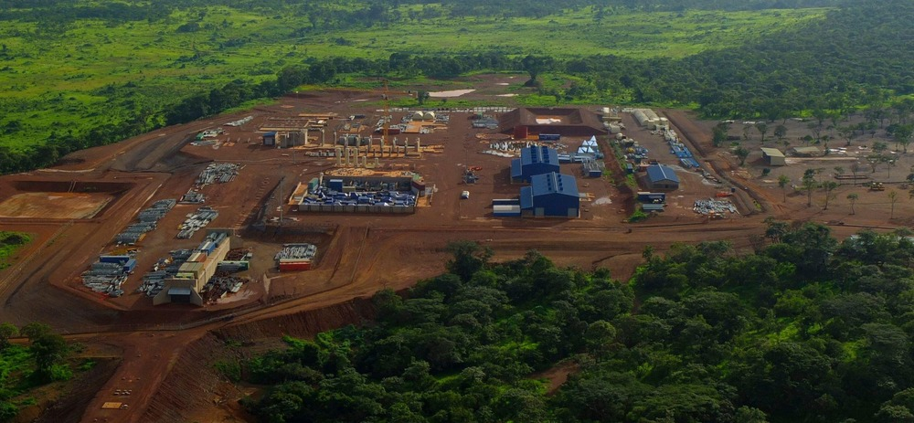 The Boss Mining copper operation, owned by ENRC, is seen from a helicopter in the southern Congolese province of Katanga, January 29, 2013. Credit: REUTERS / Alamy Stock Photo.
