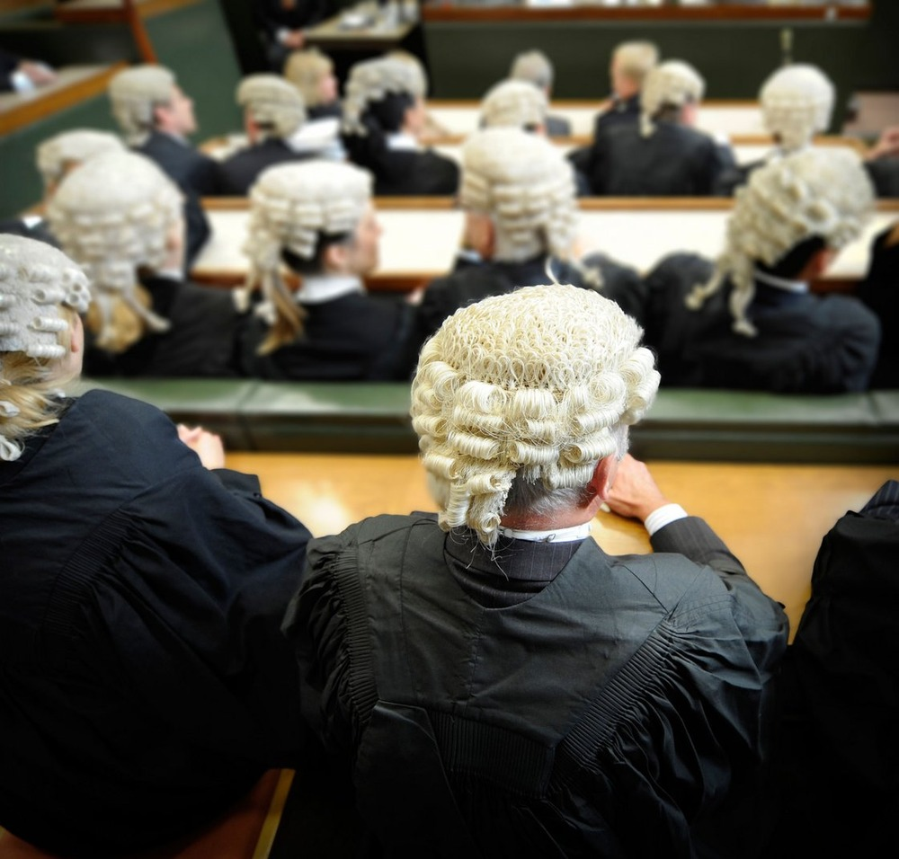 Generic Law court picture a member of the bar wearing barristers wig Credit: James Hoathly / Alamy Stock Photo.