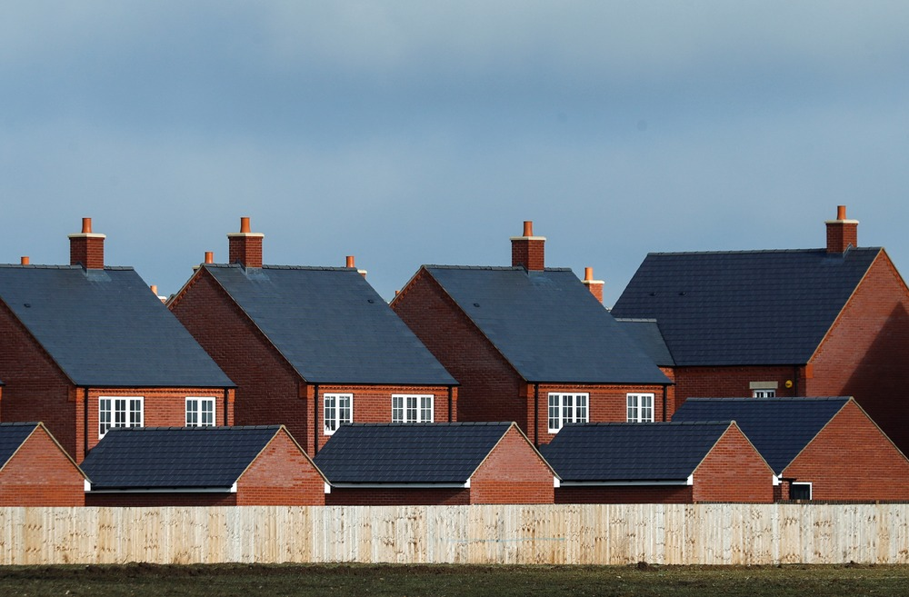 FILE PHOTO: New residential homes are seen at a housing estate in Aylesbury, Britain, February 7, 2017. REUTERS/Eddie Keogh/File Photo