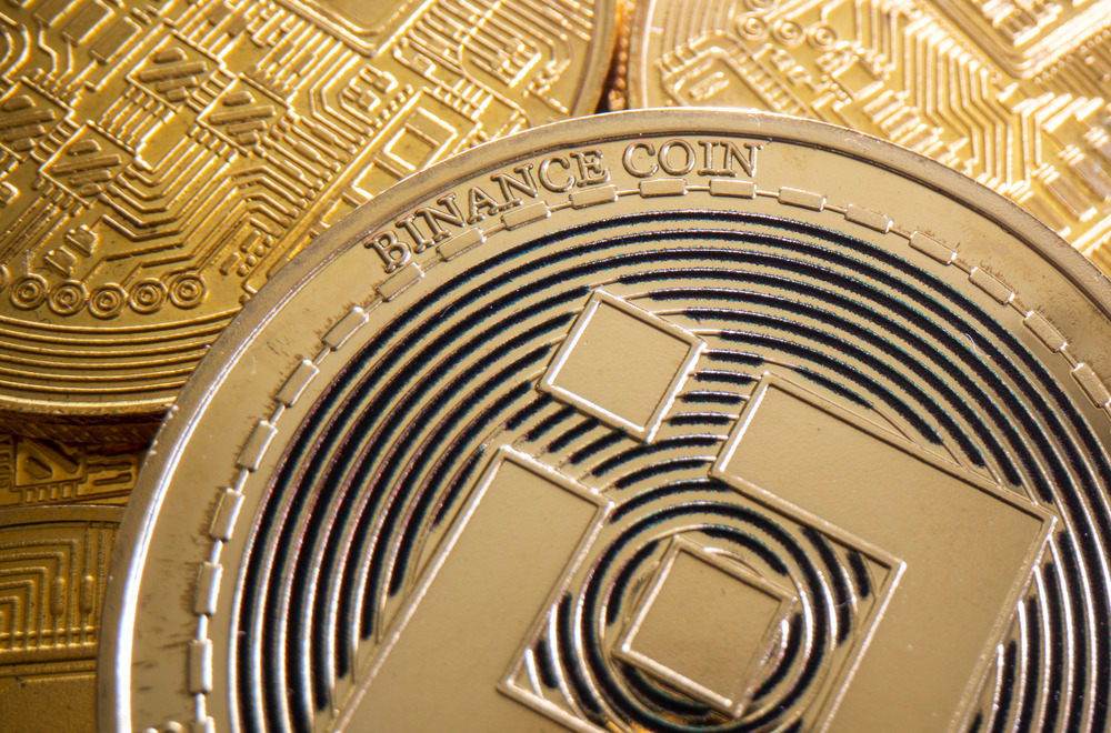 FILE PHOTO: A representation of cryptocurrency Binance is seen in this illustration taken August 6, 2021. REUTERS/Dado Ruvic/Illustration