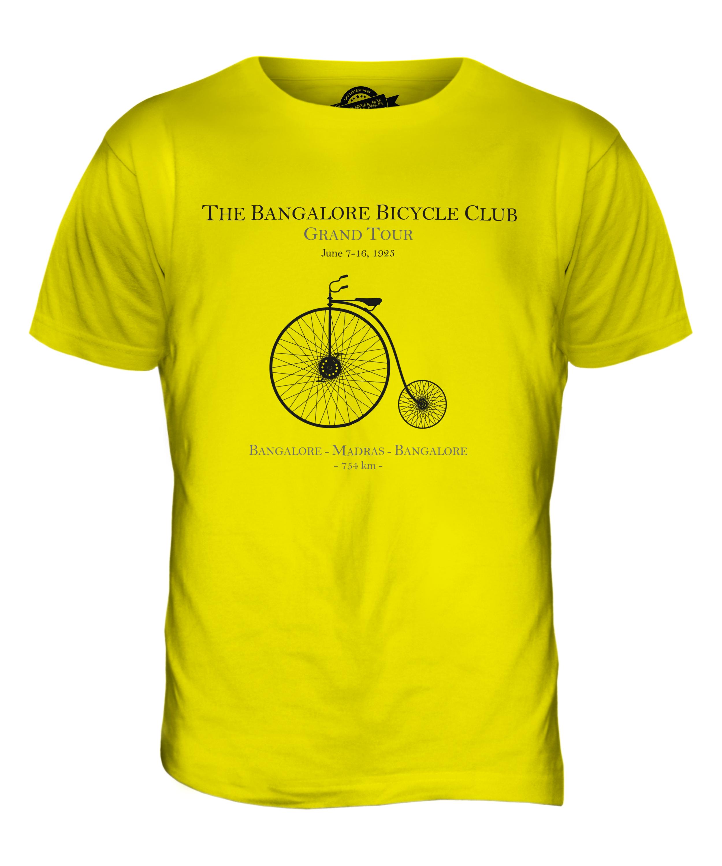 bangalore bicycle club mens printed t shirt vintage print