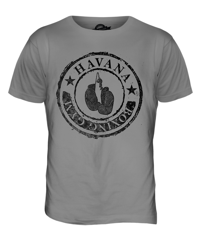 Havana boxing gym mens fashion t shirt vintage print top for Best shirts to print on
