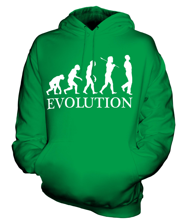 IRISH DANCING EVOLUTION OF MAN UNISEX HOODIE MENS WOMENS ...