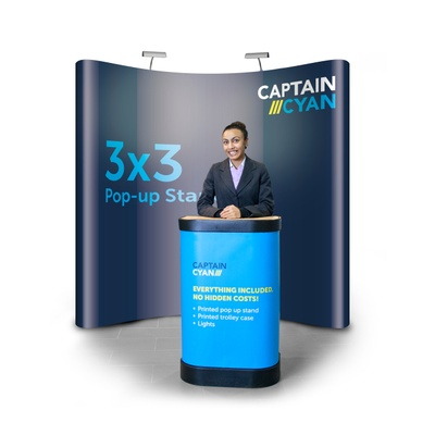 Pop-up Display Stand