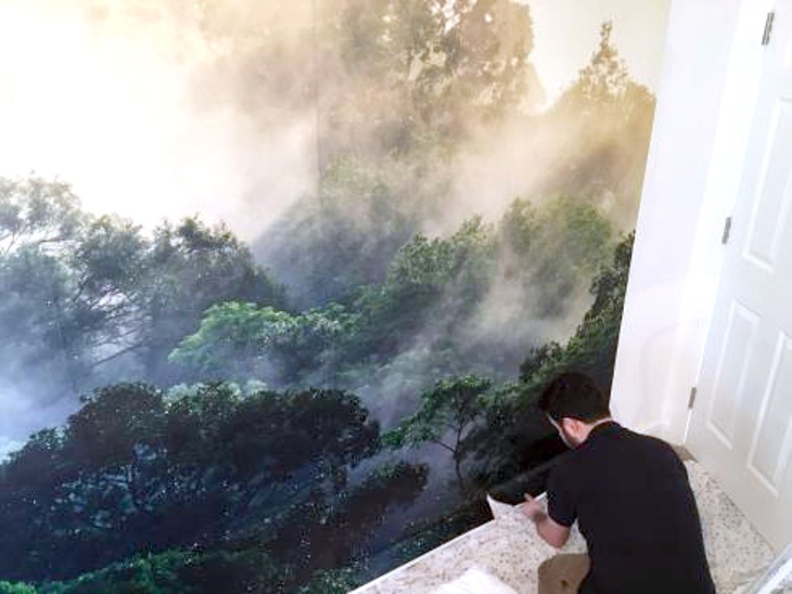 Custom Digitally Printed Wallpaper