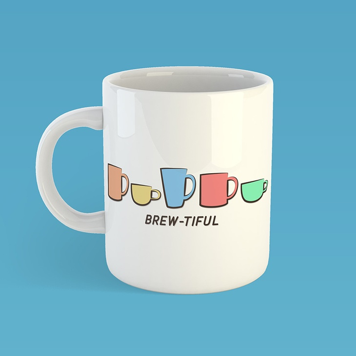 12oz Personalised Printed Mugs