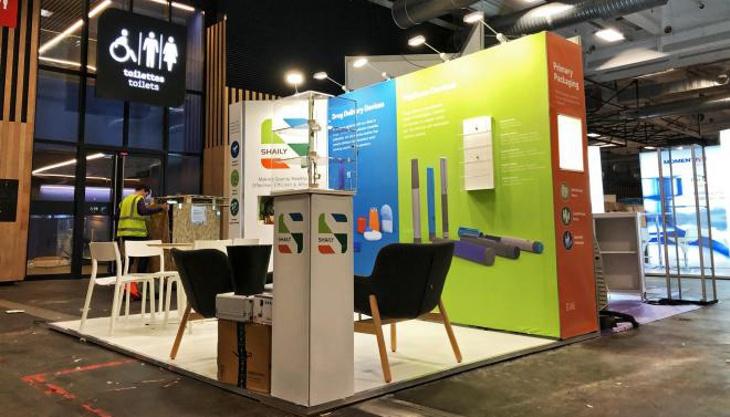 T3 exhibition stand installation
