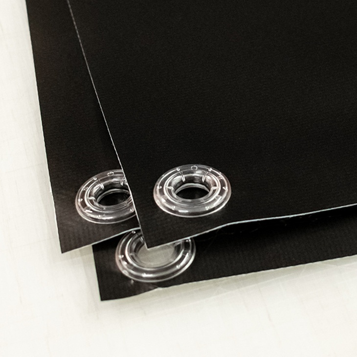 Durable Clear Plastic Eyelets