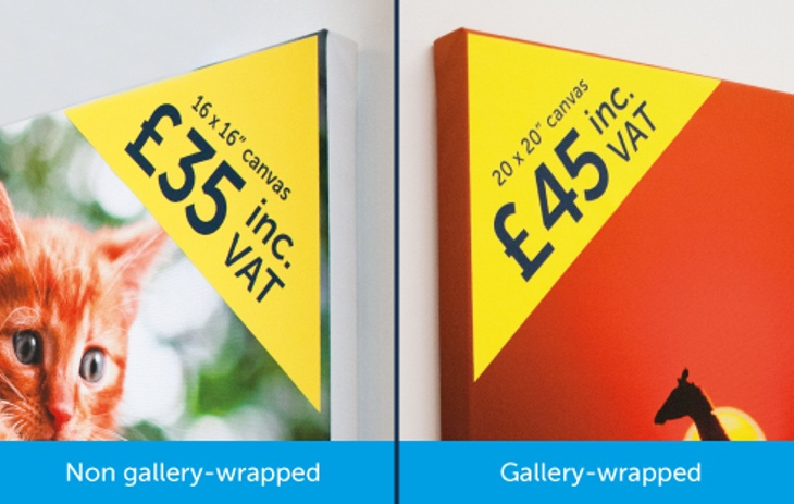 Gallery Wrap v Non-Gallery Wrap