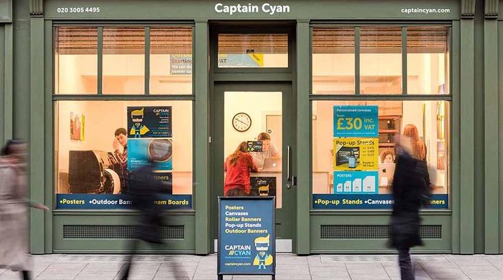 Captain Cyan Shop Exterior