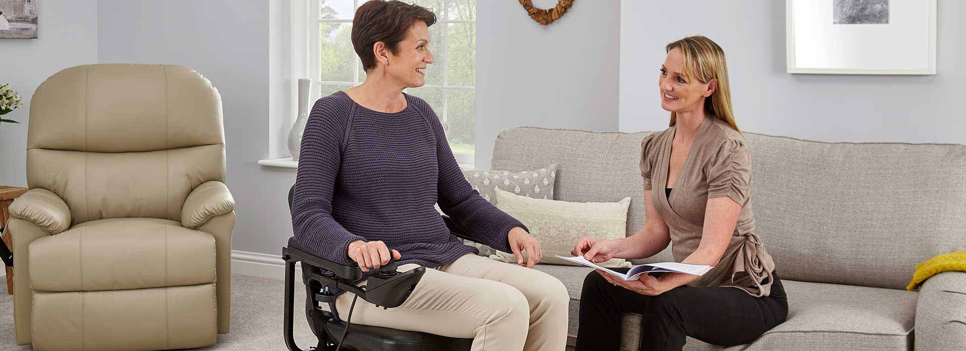 Occupational Therapist Reviews Electric Wheelchairs And