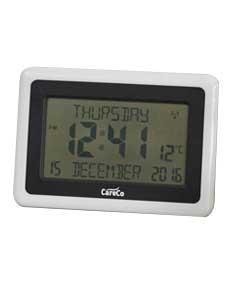 Clear Display LCD Clock